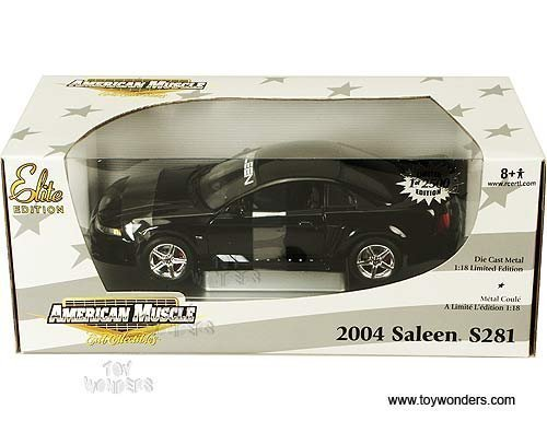 2004 Ford Mustang Saleen S281 Black 1:18