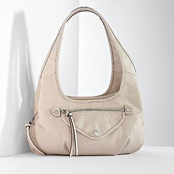 Amazon.com  Simply Vera Vera Wang Sidekick Satchel  Clothing f2dacde32a61e
