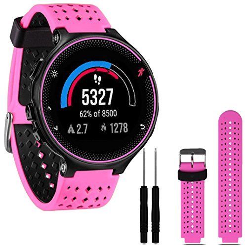 gbsell-new-soft-silicone-replacement-wrist-watch-band-for-garmin-forerunner-230-235-630