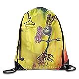 : Eronp Seether Words As Weapons Drawstring Backpack Sport Bag For Men/Women