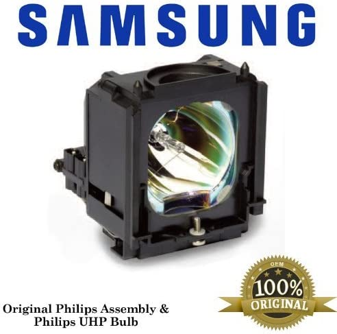 Projector Lamp Assembly with Osram Neolux Bulb Inside. HL-S5086W Samsung DLP TV Lamp Replacement