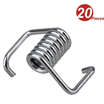 HALJIA 20pcs Timing Belt Tensioner Torsion Spring For 3D Printer