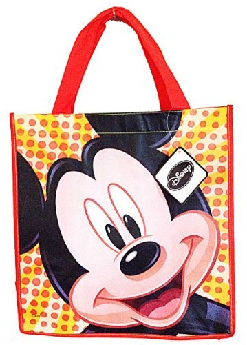 Disney Mickey Mouse Happy Face Reusable Tote Bag -