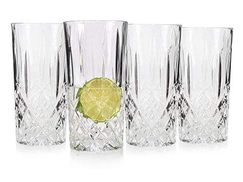 RCR 208890 Gläser Set, glas, 4 Einheiten, transparent