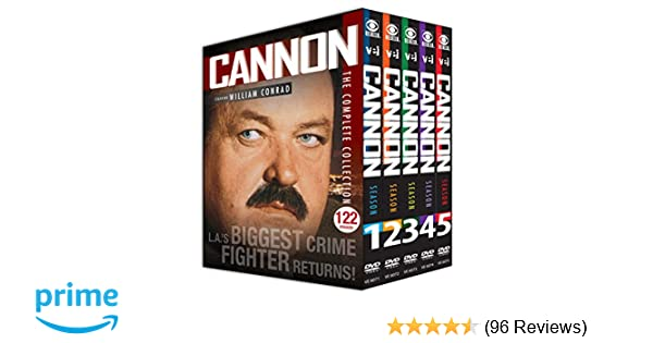 Amazon com: Cannon: The Complete Collection (122 Episodes