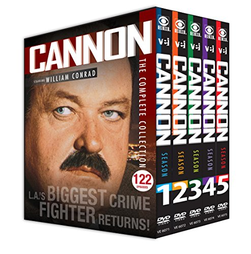 Cannon: The Complete Collection (122 Episodes Plus 2 TV Movies:& Pilot And Return Of Frank Cannon) by Visual Entertainment Inc.