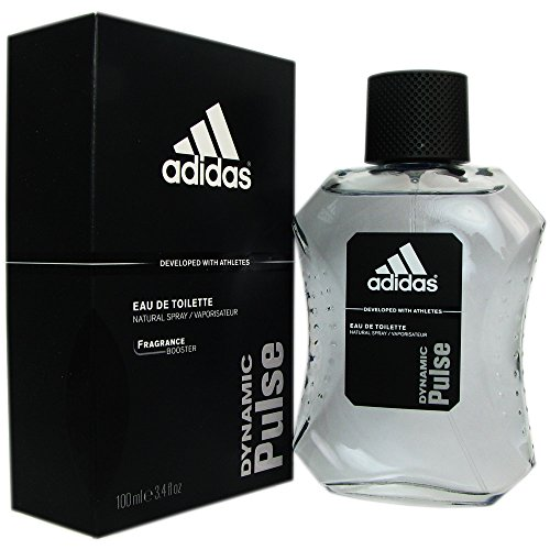 Dynamic Pulse Eau De Toilette Spray by Adidas, Developed with Athletes for Men, 3.4 Ounce
