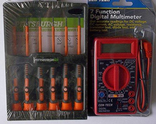 IIT 26415 Digital Multimeter with 7 Functions, 19 Ranges