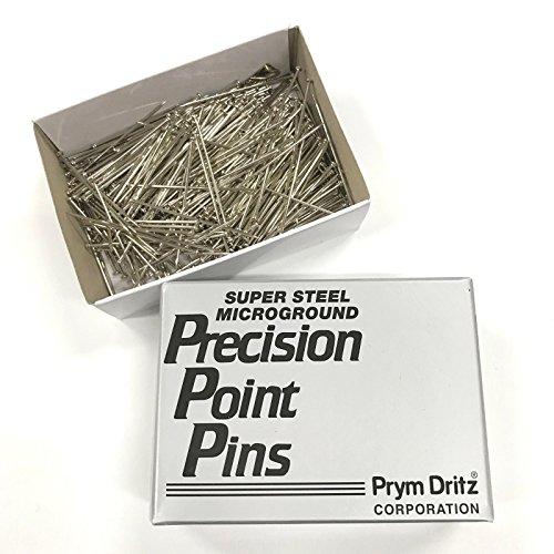 Prym Dritz Steel Bank Pins No. 20 (1-1/4 Inch Long), 1/2 Lb Box 114700 by Prym Dritz