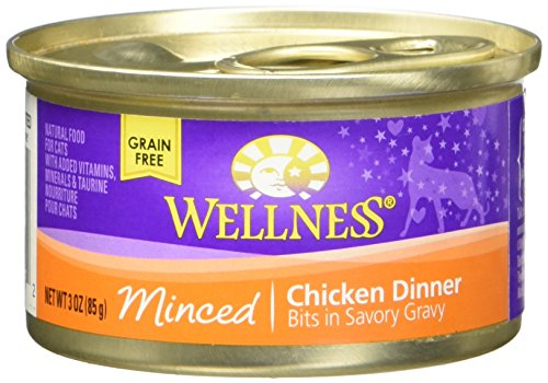 Wellness Minced Chicken Food cans 3oz product image