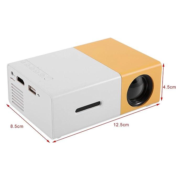 YG300 Mini proyector Profesional Full HD1080P Home Theater ...