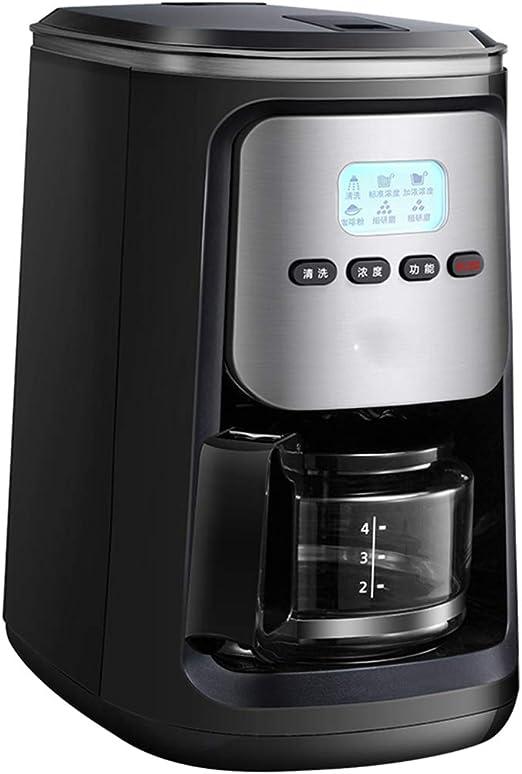 Cafetera inteligente LCD, cafetera de limpieza automática ...