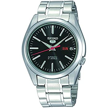 Seiko Mens SNKL45 Stainless Steel Automatic Watch