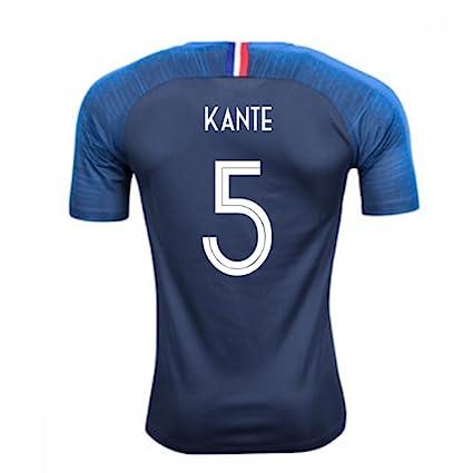timeless design 95c85 9f123 Amazon.com : 2018-2019 France Home Nike Football Soccer T ...
