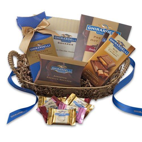 Ghirardelli 81703 Chocolate Comforts Basket