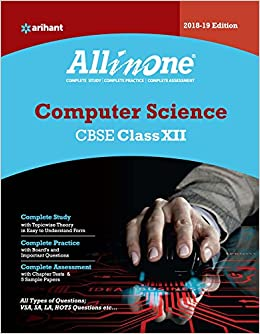 CBSE All In One Computer Science CBSE Class 12 for 2018 - 19