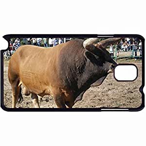 New Style Customized Back Cover Case For Samsung Galaxy Note 3 Hardshell Case, Back Cover Design Barrosa Cow Personalized Unique Case For Samsung Note 3