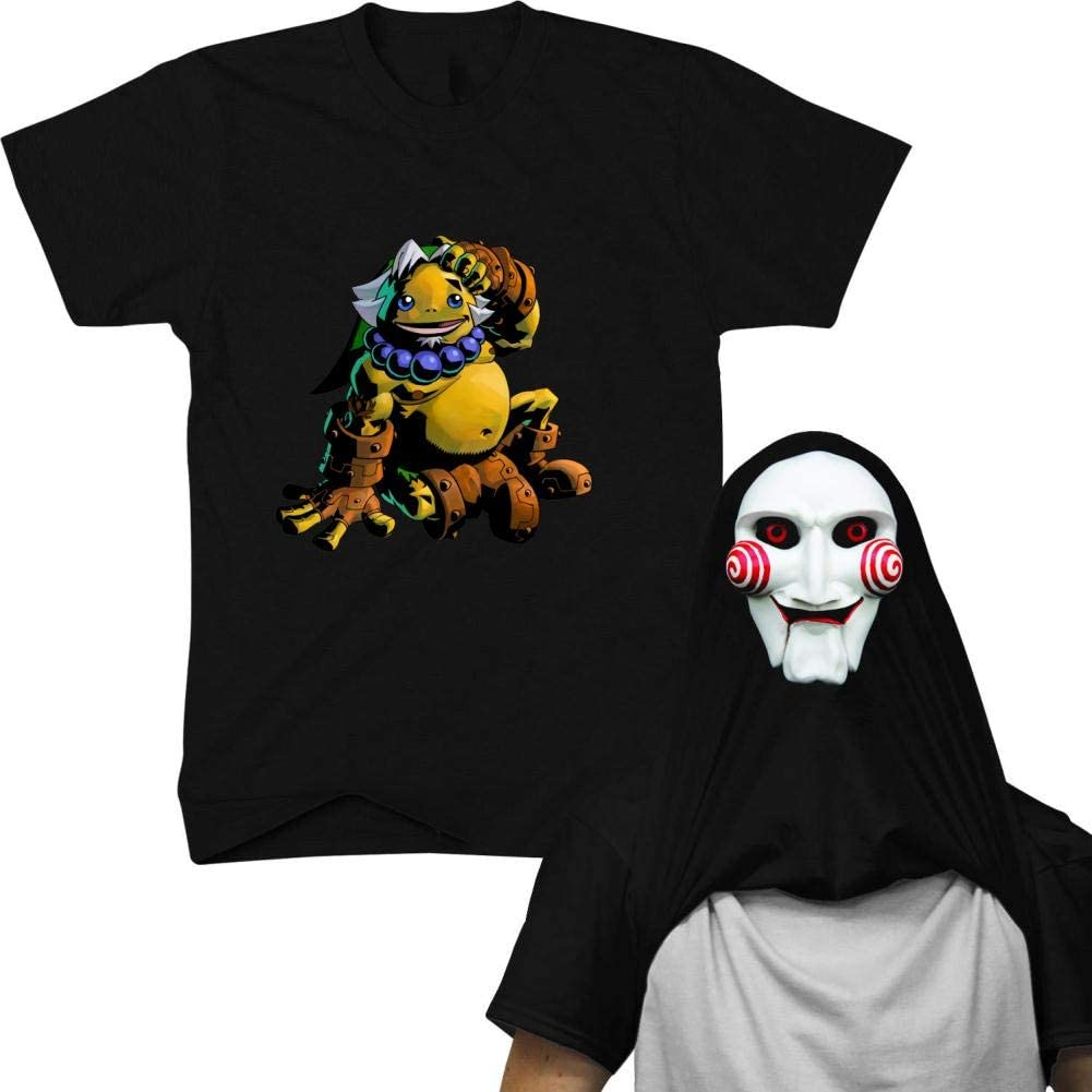 LASYLY L-egen-d of Z-ELD-a Mens Ask Me About My Ninja Disguise Flip T-Shirt Funny Novelty Tees