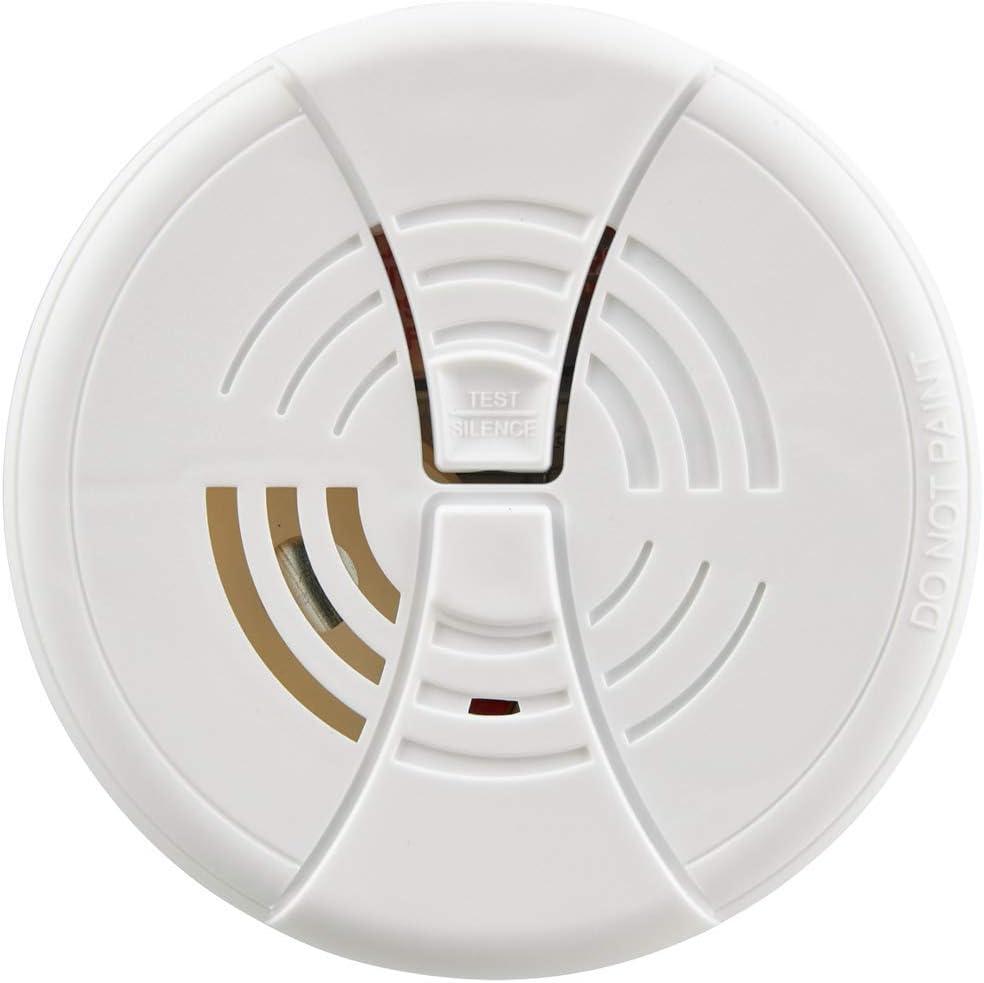 First Alert BRK FG250B Dual Ionization Smoke Alarm with 9-Volt Battery, 1