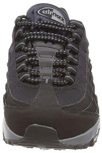 Max da Scarpe Ginnastica Grey Uomo Nero Black 95 Dark Nike Air Black qxSf5Igfw