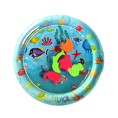 Brightric Baby Kids Water Play Mat Inflatable Thicken PVC Infant Gym Playmat Toys