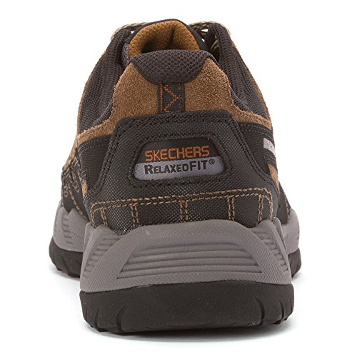Skechers Sport Mens Outland Brivido Cercatore Sneaker Taupe-nero