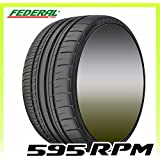 Federal 595 RPM Performance Radial Tire - 255/35R19 96Y