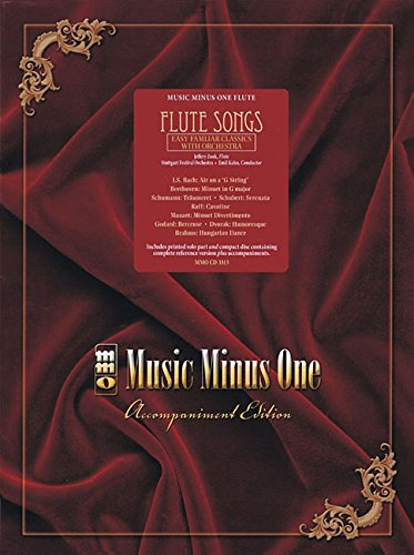 - Flute Songs - Easy Familiar Classics with Orchestra: Music Minus One Flute
