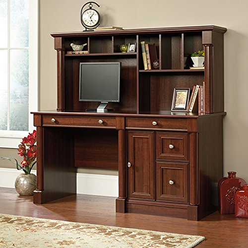 sauder-palladia-computer-desk-with-hutch-in-cherry