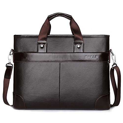 (jn3008-k) Men Leather Bag Men Bag Shoulder Work 3-way A4 Working Shoulder Bag Waterproof Genuine Leather Bag Brown Traveler Nearby Public