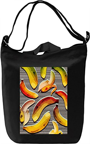 Pop Art Bananas Borsa Giornaliera Canvas Canvas Day Bag| 100% Premium Cotton Canvas| DTG Printing|