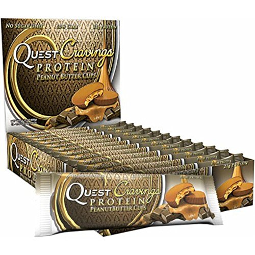 Quest Bar Cravings Ba Roasted Peanut Butter Cup, 1.76 oz, 12 Pack