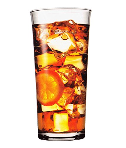 Pasabahce Troy Long Drink Glass Set, 290 ml, Set of 6, Transparent Glassware & Drinkware at amazon