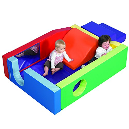 Slide-In Play Yard for Ages 6 Months - 2 Years by Constructive Playthings