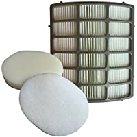Think Crucial Replacements for Shark NV80 HEPA Style, Foam & Felt Filter Fits Navigator NV80, UV420 & UV440, Compatible With Part # XHF80 & XFF80