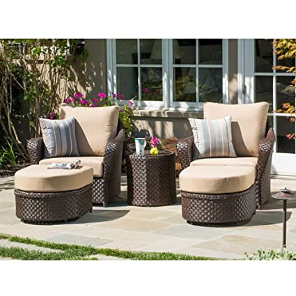 Beautiful San Marino 5 Piece Club Chair Set By Sirio™