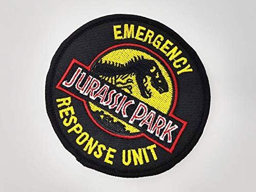 ジェラシックパーク レスポンスユニット(緊急対応部隊)ワッペン パッチ