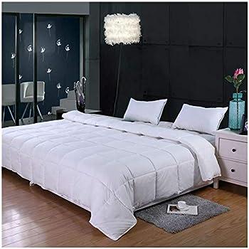 FLC Solid Down Alternative Comforter Duvet Insert New Medium Weight for All..