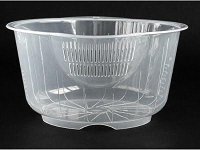 Japanese Plastic Fruit Vegetable Rice Washing Bowl