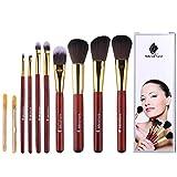 Professional Makeup Brush Set Kabuki Makeup Foundation Eyeliner Blush Contour Lip Concealer Cosmetic Brushes for Beauty Blending Face Powder Eyeshadow Eyebrow 8 PCs