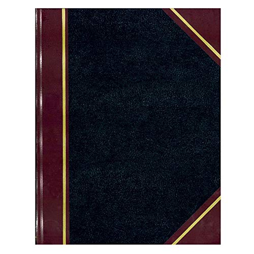 (NATIONAL Texhide Series Record Book, Black, 10.375