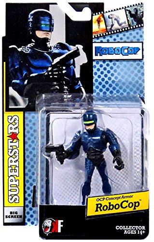 Movie Superstars Wave 2 Revision 1 Robocop OCP Concept Armor Mini-Figure (Robocop Mini)