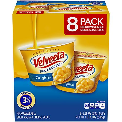 Velveeta Original Shells and Cheese Cups, 19.12 Ounce