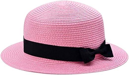 zlhcich Gorra para el Sol Sombrero de Paja Sombrero para el Sol ...
