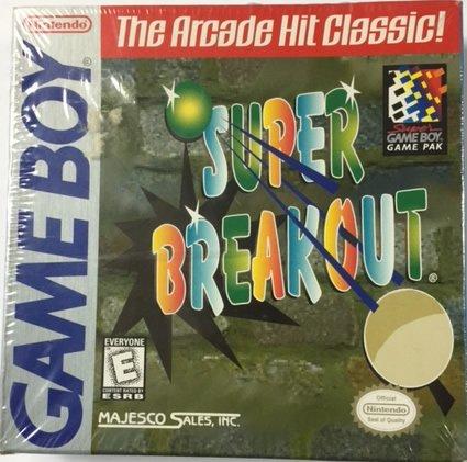 Super Breakout Gameboy