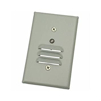 Primer, 1W LED Indoor Louvered Mini Step Lights with Photocell ...