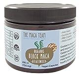 Certified Organic Black Maca Root Powder - Fresh Harvest From Peru, Fair Trade, Gmo-free, Gluten Free, Vegan and Raw, 2.2 Lb - 111 Servings