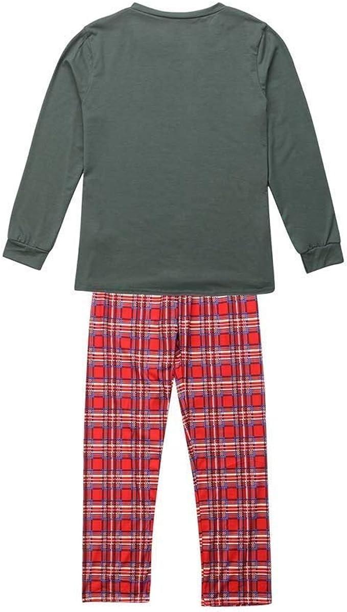 cinnamou Pijama Familiar NavideñO, Conjunto De Pijama Tops ...