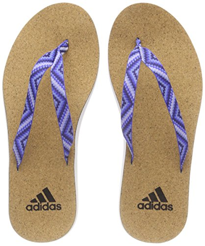 Piscina Flip 000 adidas Mujer para Azucen Ftwbla de Tinnob Eezay Playa y Zapatos Cork Flop Blanco qFwR8F1