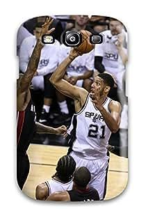 DanRobertse Galaxy S3 Hybrid Tpu Case Cover Silicon Bumper San Antonio Spurs Basketball Nba (38)